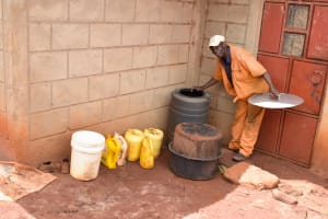 The Water Project: Mbakoni Community -  Water Storage