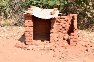 The Water Project: Ilandi Community -  Latrine