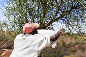 The Water Project: Kyetonye Community -  Clothesline