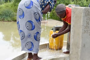 The Water Project: Katung'uli Community C -  Clean Water