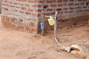 The Water Project: Katuluni Community C -  Handwashing Station