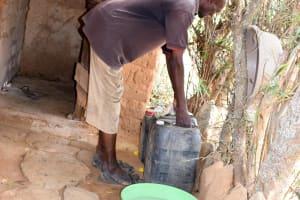 The Water Project: Kivani Community C -  Bathing Area
