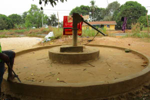 The Water Project: Molokoh Community, 720 Main Motor Road -  Well At The Mosque