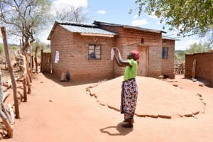 The Water Project: Katuluni Community B -  Clothesline