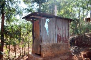 The Water Project: Masola Community A -  Latrine