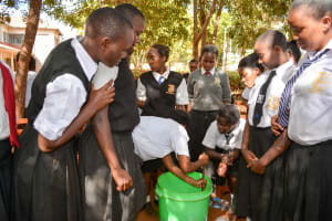 The Water Project: Kaani Lions Secondary School -  Soap Training