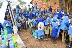 The Water Project: Kyulungwa Primary School -  Making Soap