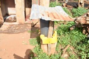 The Water Project: Maluvyu Community B -  Handwashing Station By Latrine