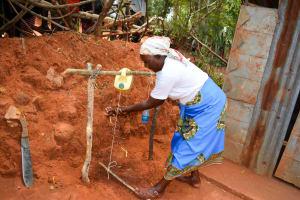 The Water Project: Kitandini Community A -  Handwashing Training