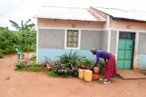 The Water Project: Kivandini Community -  Water Containers