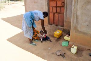 The Water Project: Kivani Community B -  Makau Household