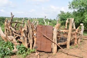 The Water Project: Maluvyu Community C -  Animal Pen