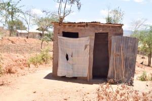 The Water Project: Katung'uli Community C -  Latrine