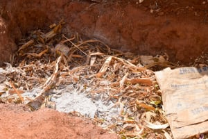 The Water Project: Masola Community A -  Compost Pit