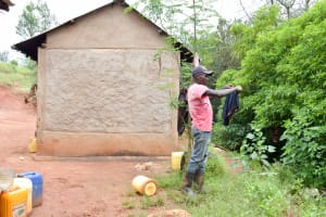 The Water Project: Mbakoni Community A -  Clothesline