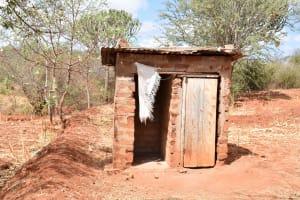 The Water Project: Ilandi Community A -  Latrine