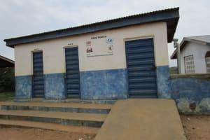 The Water Project: St. John RC Primary School -  School Latrines