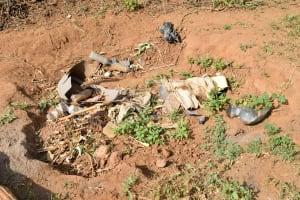 The Water Project: Maluvyu Community B -  Garbage Pit