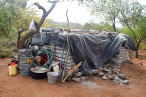 The Water Project: Maluvyu Community B -  Sand Dam Materials