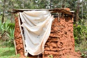 The Water Project: Kitandini Community A -  Latrine