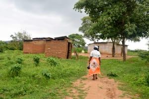 The Water Project: Kivandini Community A -  Nzioka Household