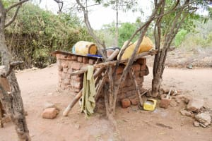 The Water Project: Mbau Community A -  Water Containers