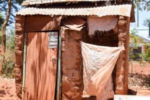 The Water Project: Uthunga Community A -  Latrine