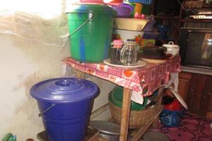 The Water Project: Mahera Community, 3 Robolla Street -  Water Storage
