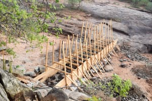 The Water Project: Maluvyu Community B -  Sand Dam Construction