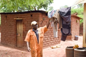 The Water Project: Mbakoni Community -  Clothesline