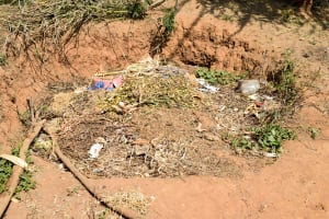 The Water Project: Kivani Community B -  Garbage Disposal