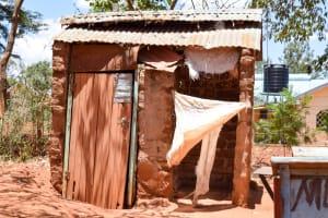 The Water Project: Uthunga Community -  Latrine