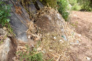 The Water Project: Mbau Community A -  Garbage Site