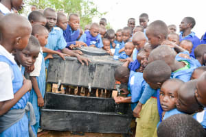 The Water Project: Kyulungwa Primary School -  Handwashing Training
