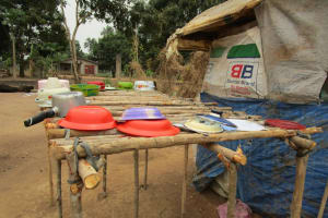 The Water Project: Molokoh Community, 720 Main Motor Road -  Dish Rack