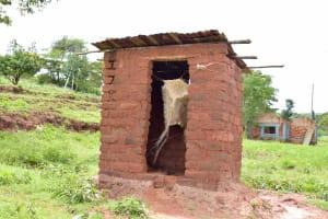 The Water Project: Mbakoni Community -  Latrine
