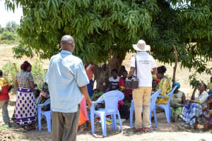 The Water Project: Utuneni Community -  Self Help Group Meeting