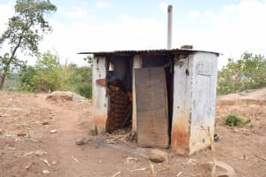The Water Project: Mbau Community A -  Latrine