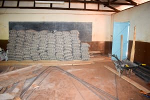 The Water Project: Kaani Lions Secondary School -  Construction Materials
