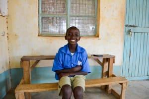 The Water Project: Kyulungwa Primary School -  Fredrick Ndambuki