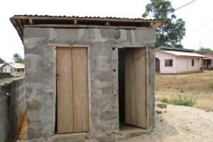 The Water Project: Mahera Community, 3 Robolla Street -  Latrine