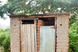 The Water Project: Kivandini Community A -  Latrine