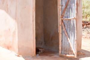 The Water Project: Utuneni Community A -  Latrine