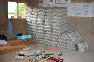 The Water Project: Kyulungwa Primary School -  Construction Materials