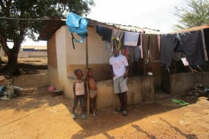 The Water Project: Targrin Community -  Clothesline