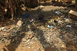 The Water Project: Targrin Community -  Garbage Pit