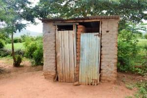 The Water Project: Kivandini Community -  Latrine
