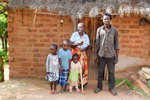 The Water Project: Maluvyu Community B -  Mutunga Family