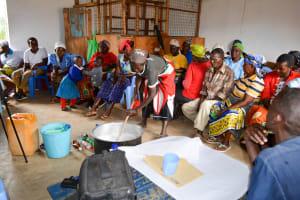 The Water Project: Katung'uli Community B -  Making Soap
