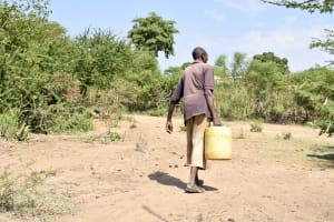 The Water Project: Kivani Community C -  Carrying Water